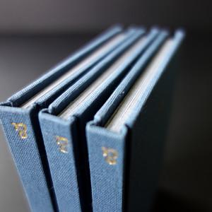 Rémi BRIMBOEUF /  Vice & Versa    8 x 11,5 cm / bradel dos droit plein toile / titre marqué à chaud au film doré / impression numérique / papier munken print white 80g / 64 pages / 3 exemplaires   Ce livre propose deux sens de lecture possible. Composé de deux séries d'images de mains, leur aspect pictural résulte de l'utilisation d'un scanner.  Partant de la dualité vices/vertus, l'enjeu est ici de confondre ces frontières dans un jeu continu et plein d'ironie.  L'académique côtoie le monstrueux ; et chaque image est mise en relation avec un mot référant à une qualité, une valeur ou un concept philosophique, miroir de la nature humaine.  Ce petit ouvrage est une somme du genre humain, dans toute sa complexité et son ambigüité. Il permet d'engager une réflexion sur le véritable sens du bien et du beau.