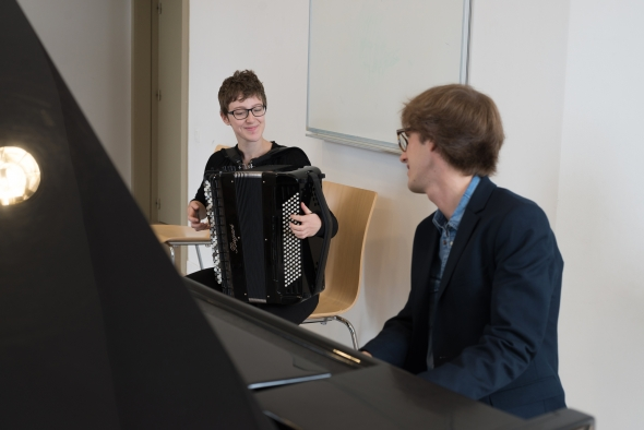 © Florian Machot — Salle d'exercice de l'Académie supérieure de musique