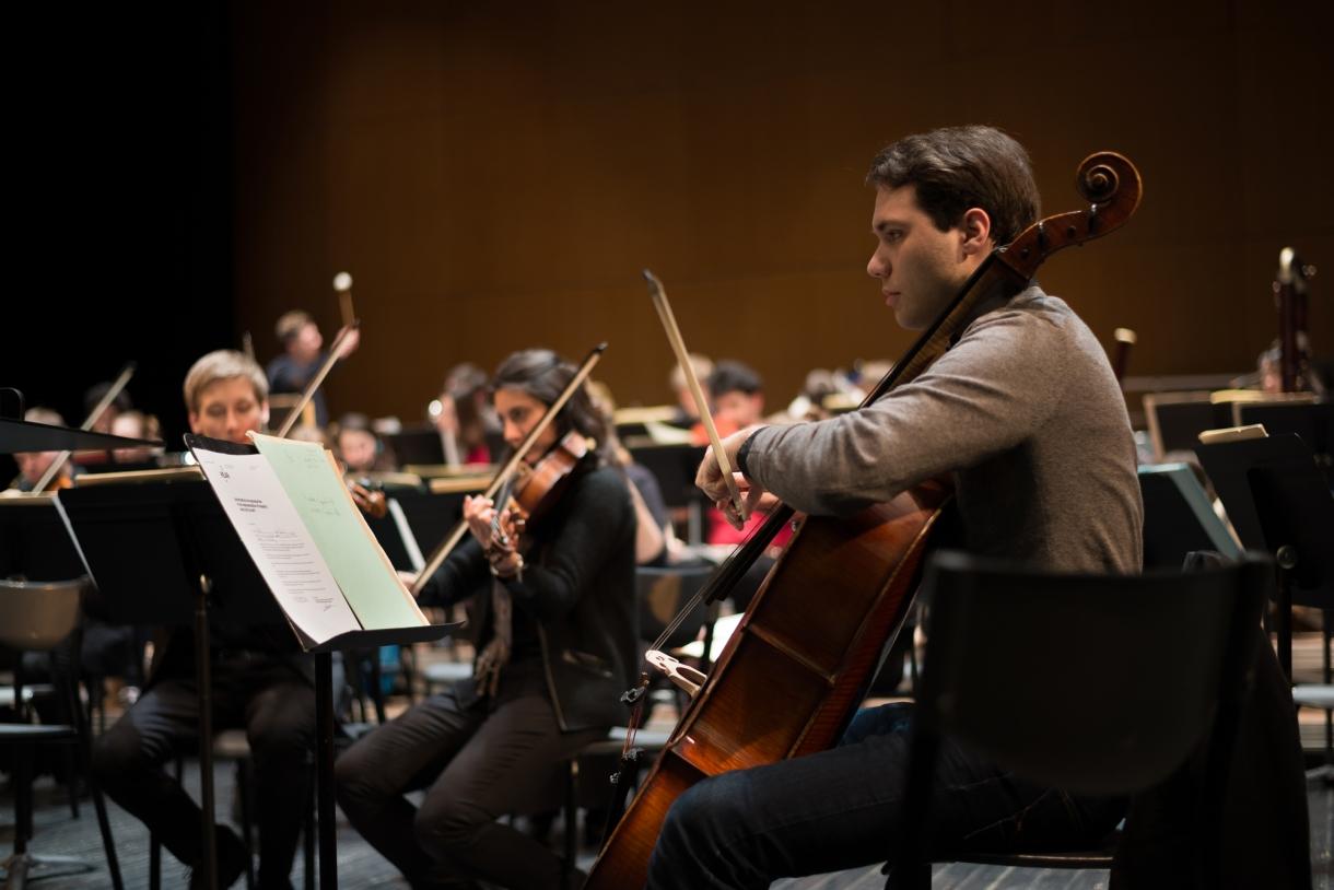 © Florian Machot — Répétition d'un concert à l'auditorium de la Cité de la musique et de la danse de Strasbourg
