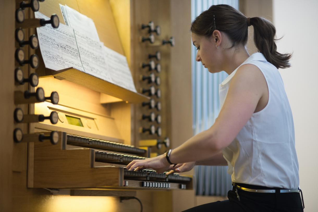 © Florian Machot — Salle d'orgue de l'Académie supérieure de musique